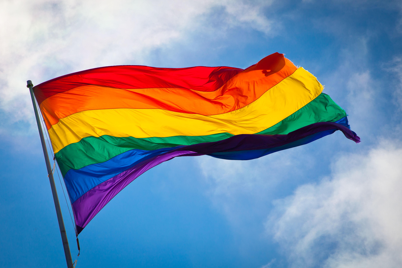 gay rainbow colors