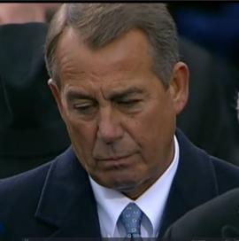 House Speaker, Republican John Boehner