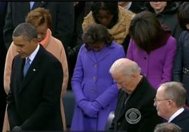 First Family prays
