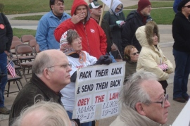 tea party sign