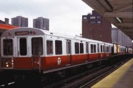 red lline train