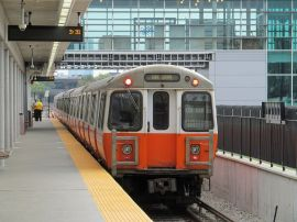 Orange Line Boston Subway