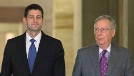 Republicans_House Speaker Paul Ryan_Senate Majority Leader Mitch Mcconnell